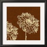 Chrysanthemum Square II Prints by Alice Buckingham