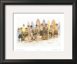 Surf's Up! Prints by  Himani