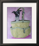 Italian Greyhound Basket Posters by Carol Dillon
