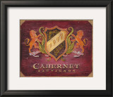 Cabernet Label Posters by Angela Staehling