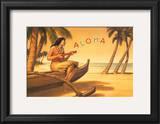 Aloha Serenade Prints