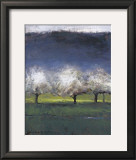 Blossoming Trees Poster by Seth Winegar