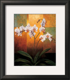 Orchids Print by Jill Deveraux