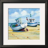 Fishing Boats Prints by Jane Hewlett