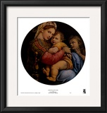 Madonna of the Chair Prints by  Raphael