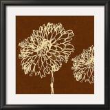 Chrysanthemum Square III Posters by Alice Buckingham