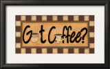Got Coffee Poster by Sue Allemand