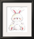 Rabbit Prints by  Makiko
