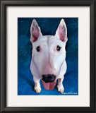 Bull Terrier Bronson Prints by Robert Mcclintock