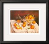 Orange Display Art by J.R. Insaurralde