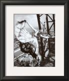 Sur la Tour Eiffel, c.1938 Posters by Erwin Blumenfeld