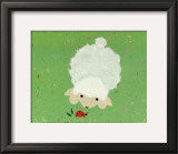 Little Lamb and Ladybug Prints by Coby Hol