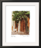 Elegant Entry Print by Maureen Love