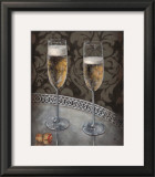 Champagne for Two Posters by Nathan Rohlander