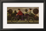 A Bicycle Made For Two Art by Paul Greenwood