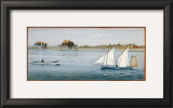 Bateaux II Prints by Dominique Perotin