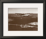 California Clipper, San Francisco Bay, California 1939 Prints by Clyde Sunderland