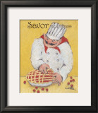 Pie Maker Prints by Carole Katchen