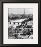 La Pont des Arts Poster by Hogues 