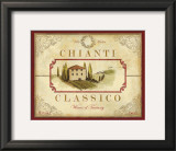Chianti Classico Art by Devon Ross