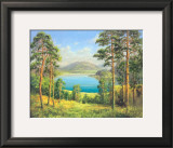 Otmuchow Lake Prints by H. Buchner