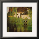 Castello Sul Lago Atter Posters by Gustav Klimt