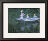 The Boat at Giverny Prints by Claude Monet