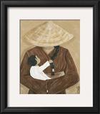 La Femme et L'enfant Prints by  Dothy