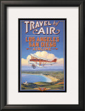Travel by Air Art by Kerne Erickson
