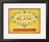 Sauvignon Blanc Art by Angela Staehling