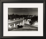 Paris, Cats at Night Prints by Robert Doisneau