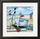 Windy Day Print by Jane Hewlett