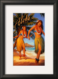 Aloha, Hawaii Print by Kerne Erickson