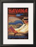 Havana Posters by Kerne Erickson