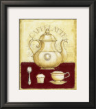 Caffe Latte and Cupcake Prints by G.p. Mepas