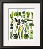Green Vegetables Prints