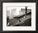 Cats on a Roof, Paris I Print by Edouard Boubat