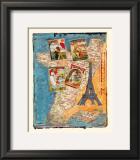 Tour de France Prints by M. Sigrid