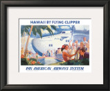 Pan American Flying Clipper Art
