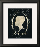 Madame Silhouette Prints by Lisa Vincent