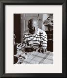 Les Pains de Picasso, c.1952 Prints by Robert Doisneau