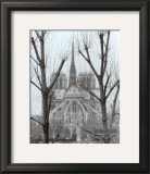 L&#39;Abside de Notre-Dame, Paris Print by Gy Zarand