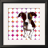 Atome as a Puppy Pop Star II Print by Guérin