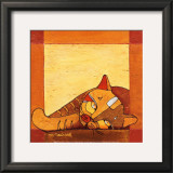 La Sieste du Chat I Prints by Michèle Neuhard