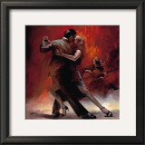 Tango Argentino II Print by Willem Haenraets