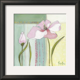 Pink Poppy I Poster by Milena More