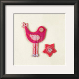Fuzzy Bird I Prints by Madeleine Millington