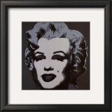 Marilyn Monroe, 1967 (black) Art by Andy Warhol
