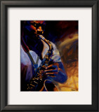 Bourbon Street Blues I Prints by Robert Brasher