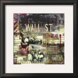 Wall Street Station Print by Vincent Gachaga